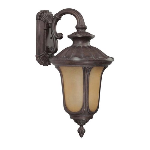 Nuvo Lighting 60/3904 Single Light Down Lighting Outdoor Wall Sconce from the Be
