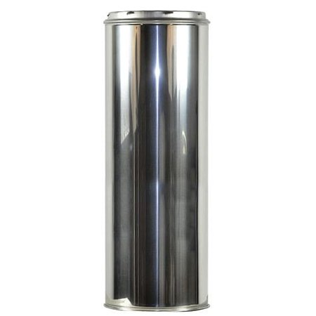 Shasta Vent 8 Inch x 24 Inch Chimney Pipe Rinnai Vent Pipe