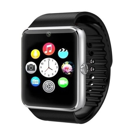 Premium Silver Bluetooth Smart Wrist Watch Phone mate for Android Touch Screen Blue Tooth Smart Watch with Camera for Adults...