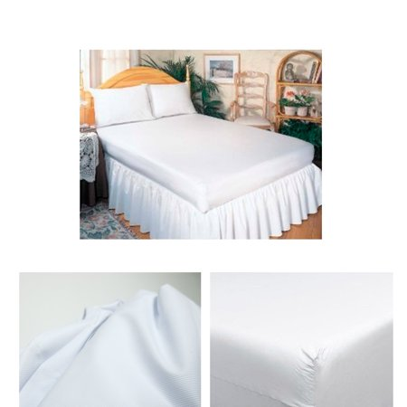 Waterproof Fitted Mattress Protector - Premium Queen Size Mattress Soft Protector Waterproof Fitted Bed Cover Anti Dust