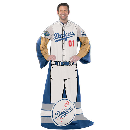 "Mlb Player 48"" X 71"" Comfy Throw, Dodger"