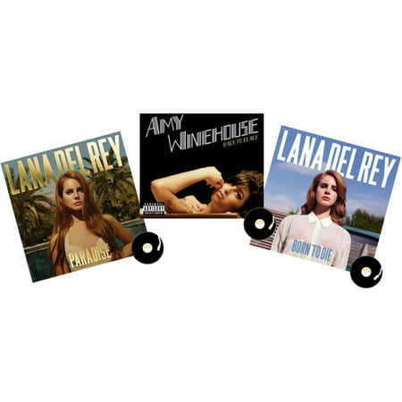 Amy Winehouse and Lana Del Rey Vinyl Collection (Lana Del Rey Lust For Life Text)
