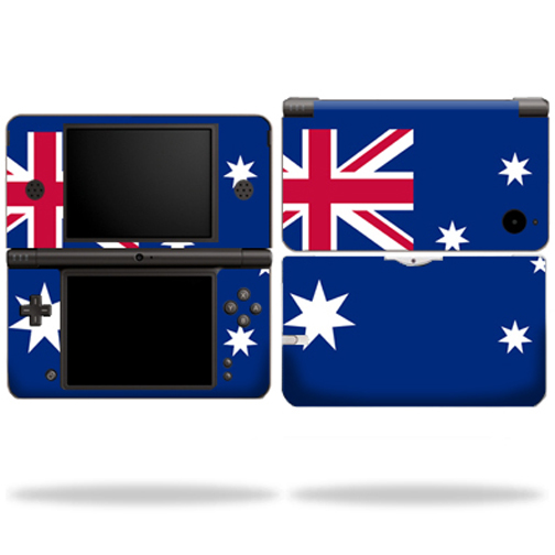 Mightyskins Protective Vinyl Skin Decal Cover for Nintendo DSi XL wrap sticker skins Australian flag