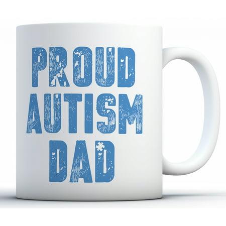 Awkward Styles Proud Autism Dad Coffee Mug Autism Dad Mug Autism Dad Gifts Autism Dad Tea Mug for Men Autism Support Gifts for Him Proud Dad Coffee Cups Autism Awareness (Vintage Style Gifts For Him)