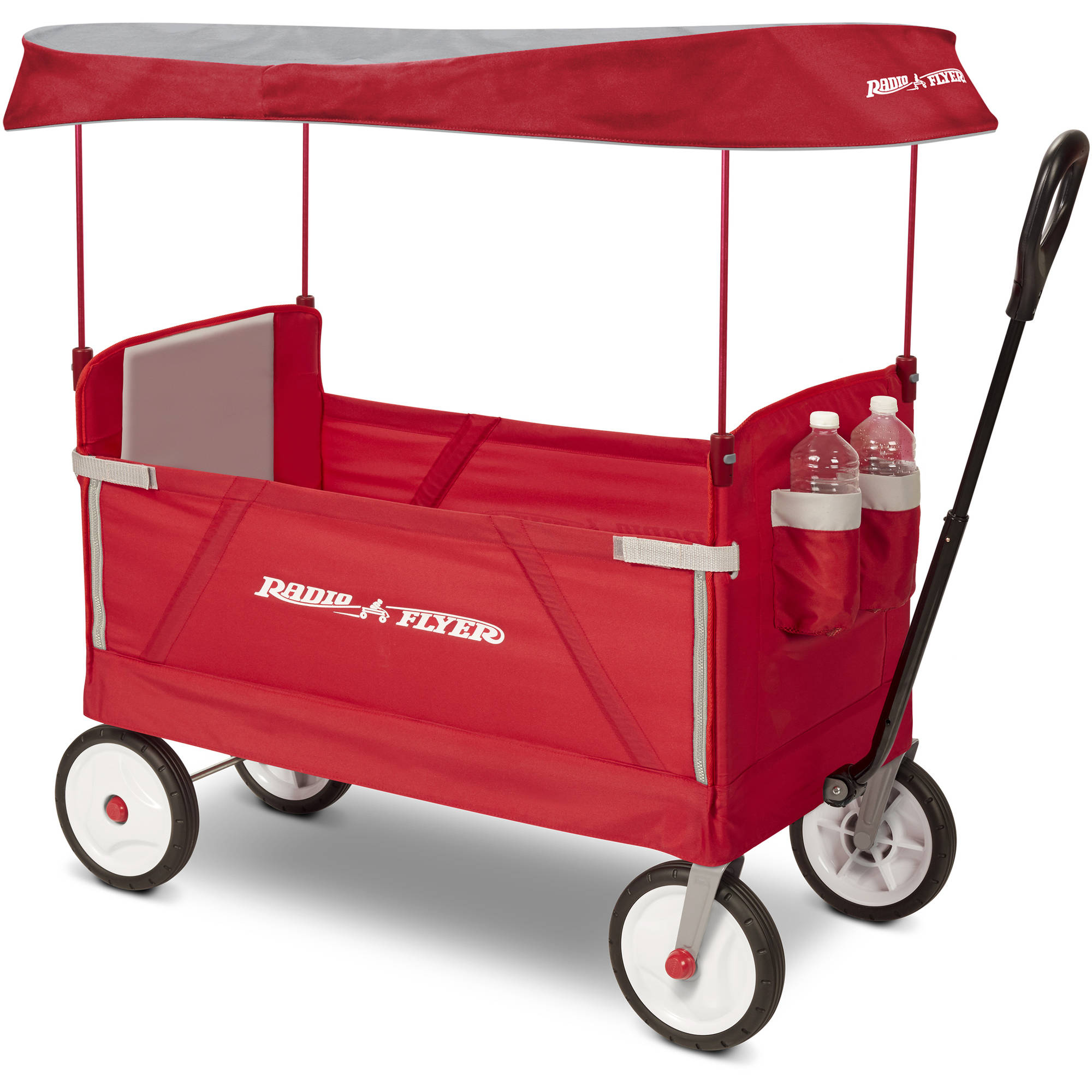 Best Kids Wagons - Radio Flyer 3-In-1 EZ Fold Wagon with Canopy Review