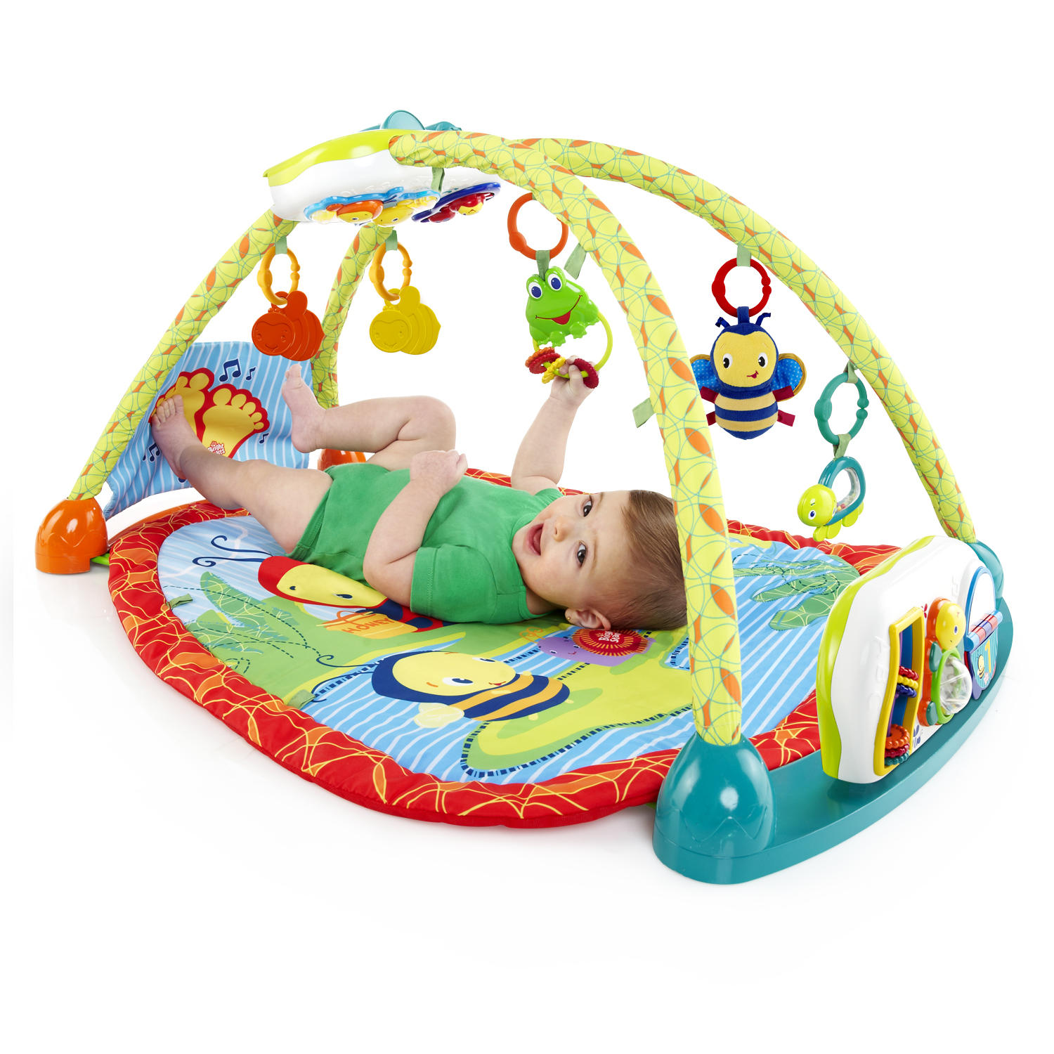 Bright Starts 2 in 1 ConvertMe Activity Table Gym Walmart