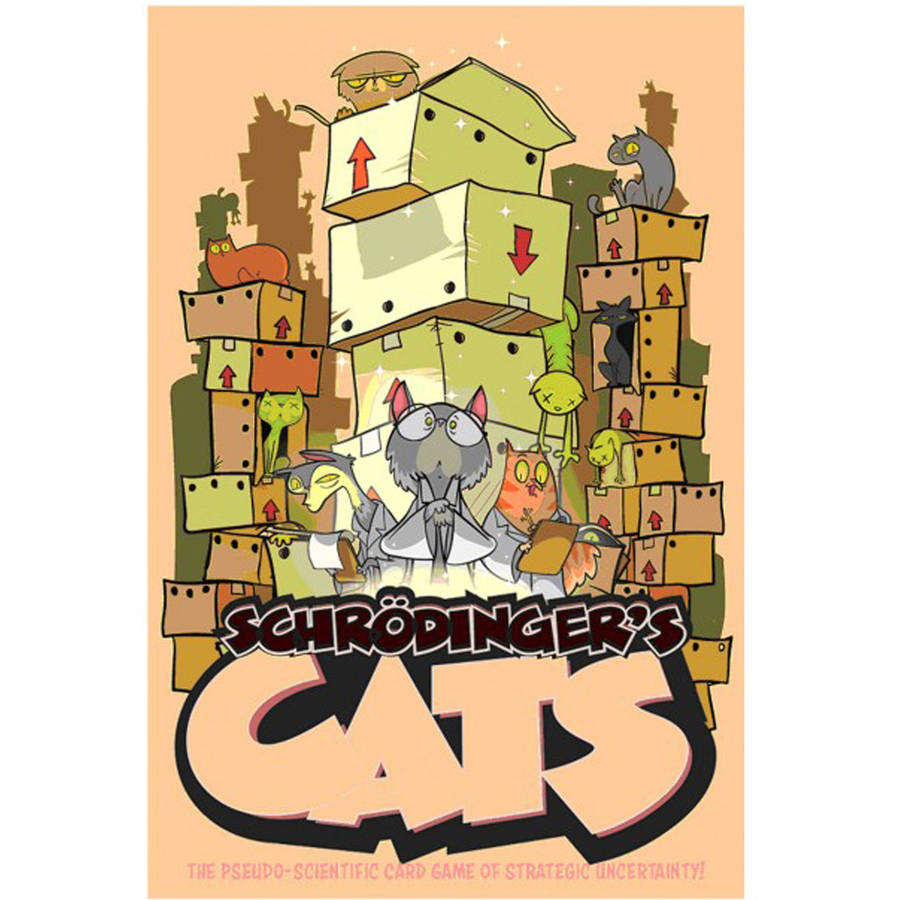 Image of 9th Level Games Schrodinger's Cats Pseudo-Scientific Card Game