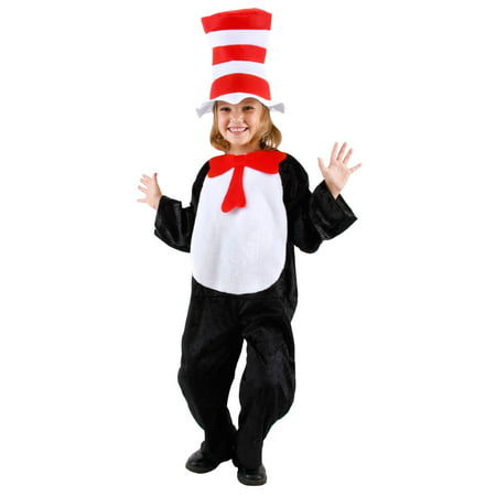 Dr. Seuss - Cat In The Hat Child Costume - 2T-4T - Who Costumes From Dr Seuss