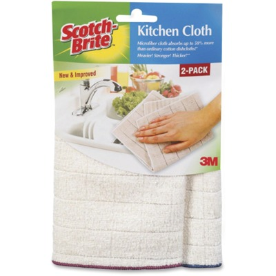 Scotch-Brite Microfiber Kitchen Cloth MMM90322CT