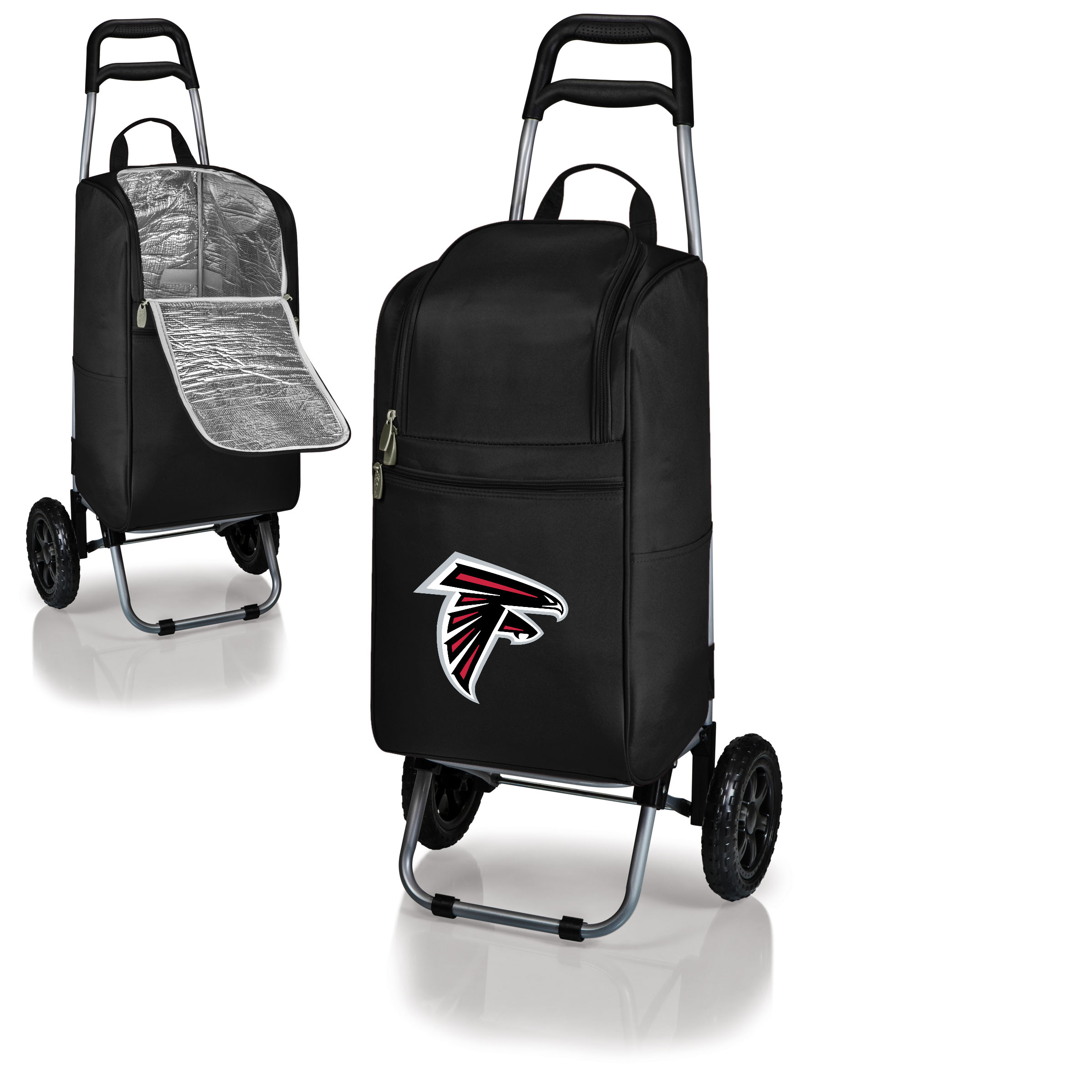 Atlanta Falcons Cart Cooler - Black - No Size