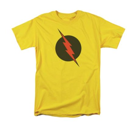 The Flash Reverse Flash Symbol DC Comics Licensed Adult T-Shirt - Flash For Adults