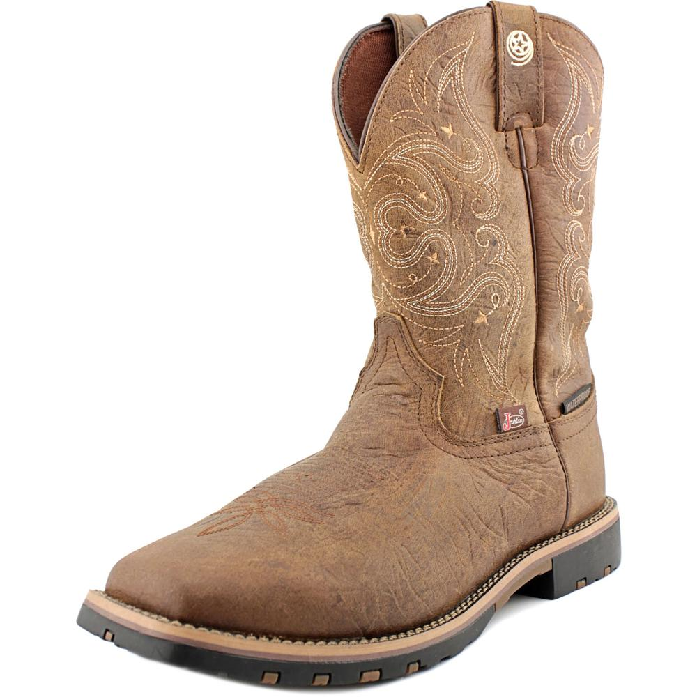 Justin Soft Toe Western Work Boot Women  Round Toe Leathe...