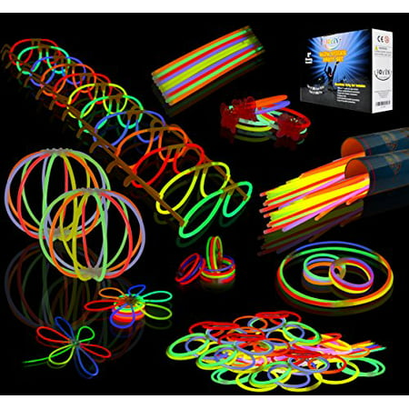 200-piece Glowstick and Glow Accessories Pack - Glow In The Dark Partys
