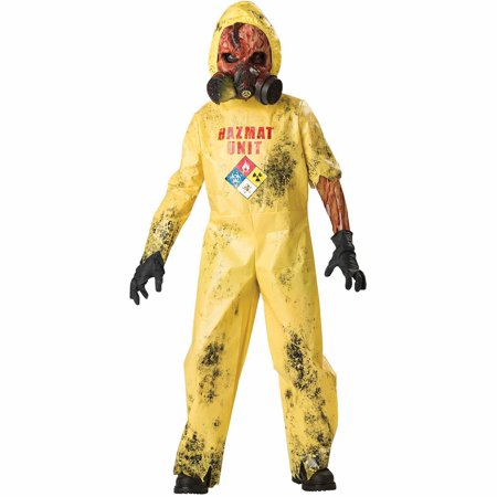 Hazmat Hazard Child Halloween Costume