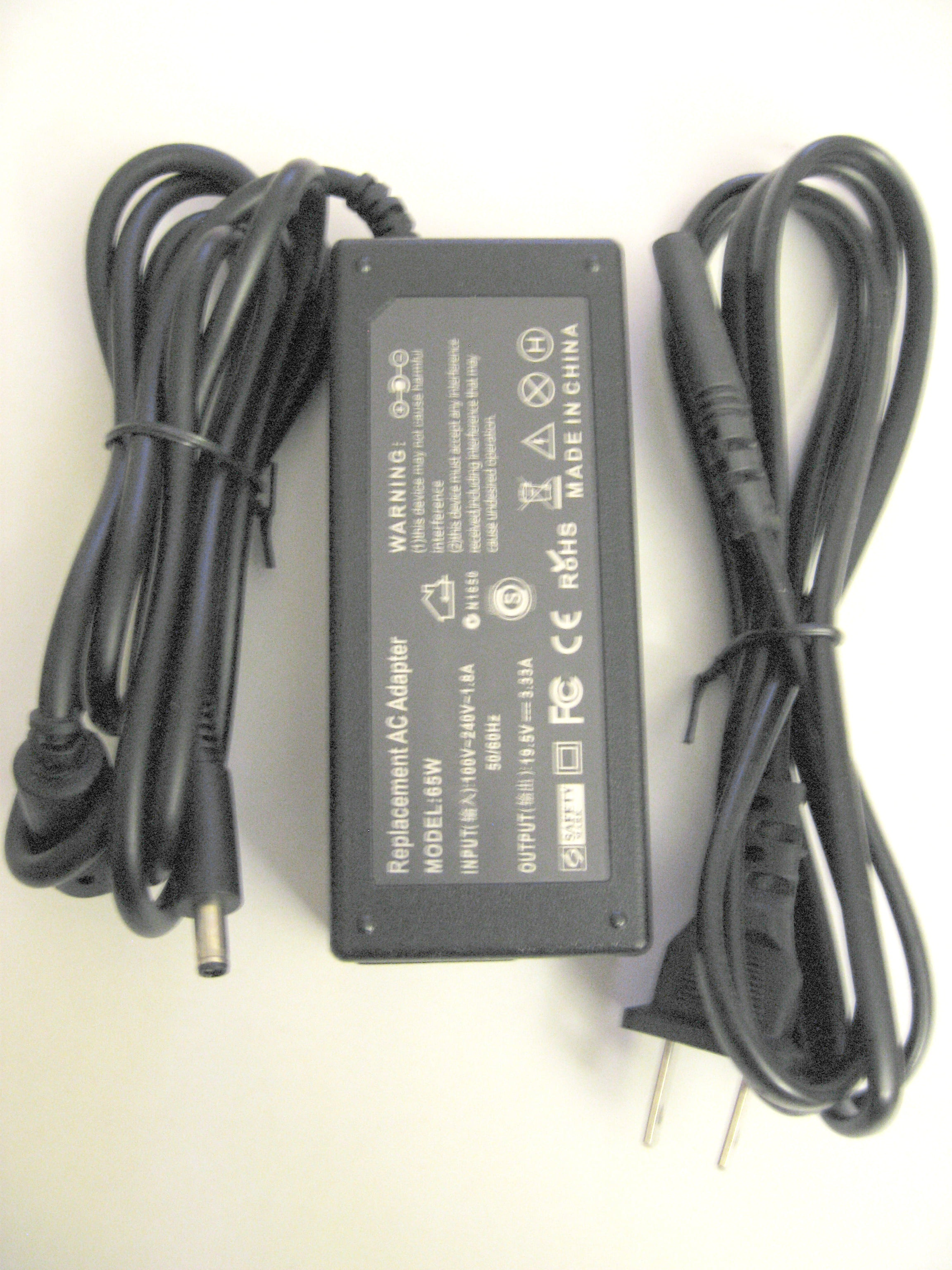 AC Adapter Charger for Dell Inspiron 15 5000 Series, 15 5559, 15