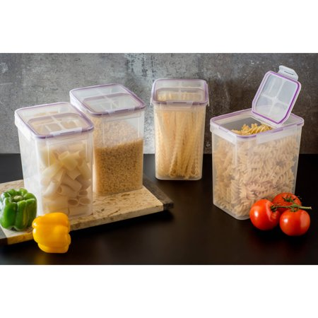 Polyethylene Food Box - Snapware Airtight Plastic 23-Cup Fliptop Food Storage Container, 4-Pack
