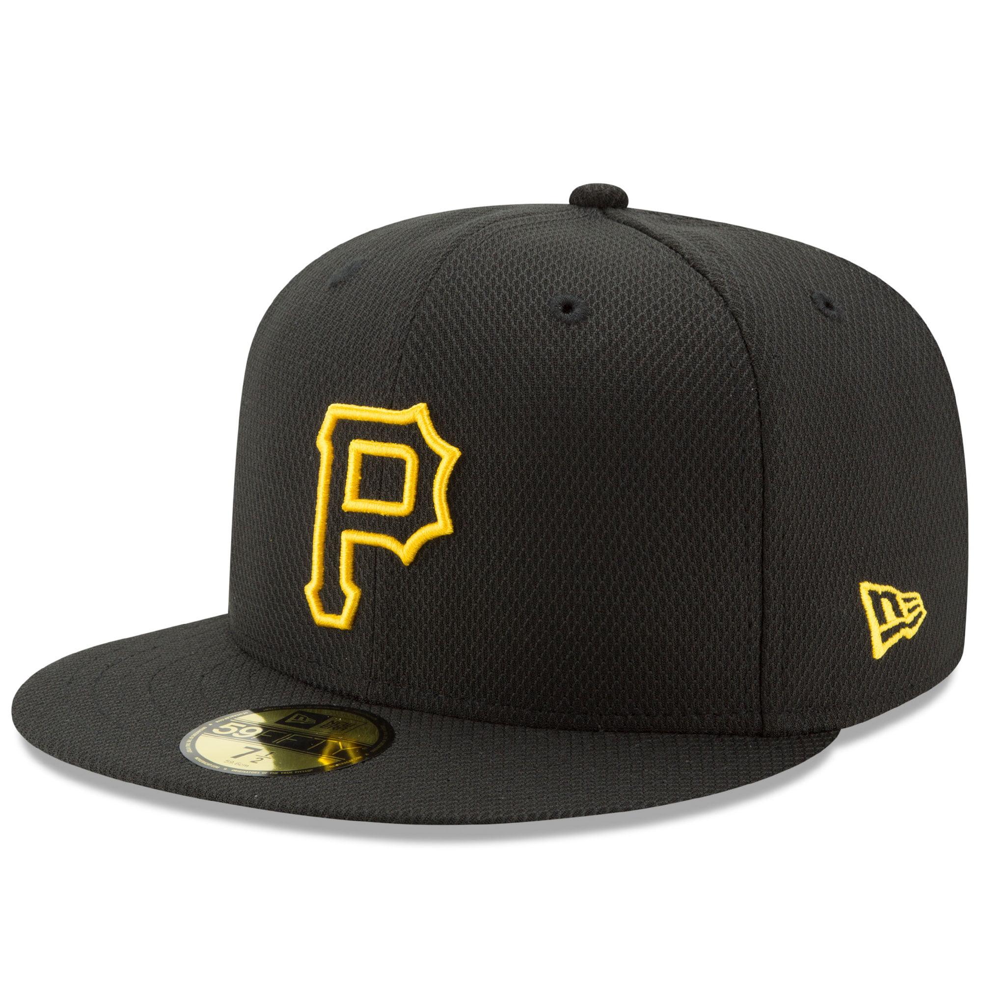 Pittsburgh Pirates New Era Diamond Era 59FIFTY Fitted Hat - Black