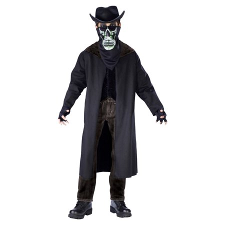 Morris costumes FW110082LG Evil Outlaw Child Large No Hat ()