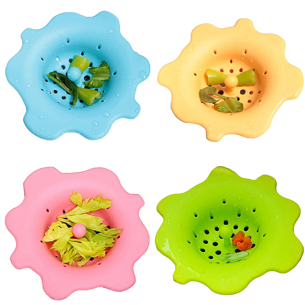 Moderna Cute Flower Shape Sink Strainer Waste Disposer Plug Drain Stopper Kitchen Tool