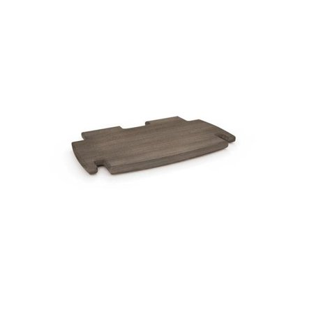 Legare Furniture, No Tools Assembly 12-Inch Spare Shelf, Grey