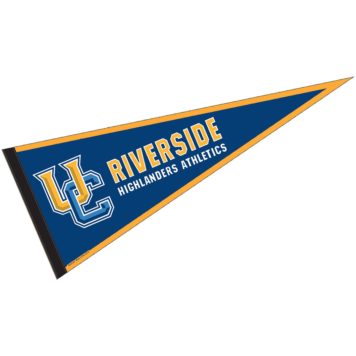 photograph about College Pennants Printable identify California Riverside Highlanders 12\