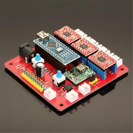 EleksMaker 12V 3 Axis Stepper Motor Controller Motherboard Driver Board For DIY Laser
