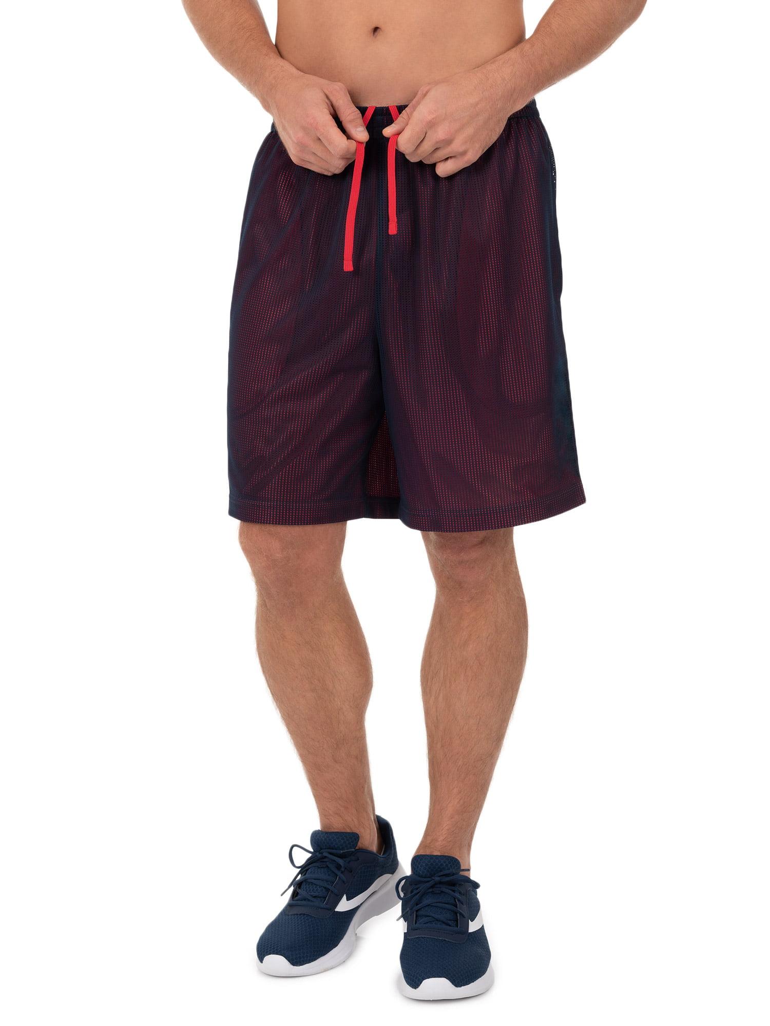 Men's Bigs Athletic Works Active Performance Grid Mesh Short