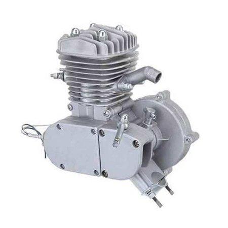 80cc 2 Wheels Low Noise Heavy Duty Steel Motorcycle Muffler
