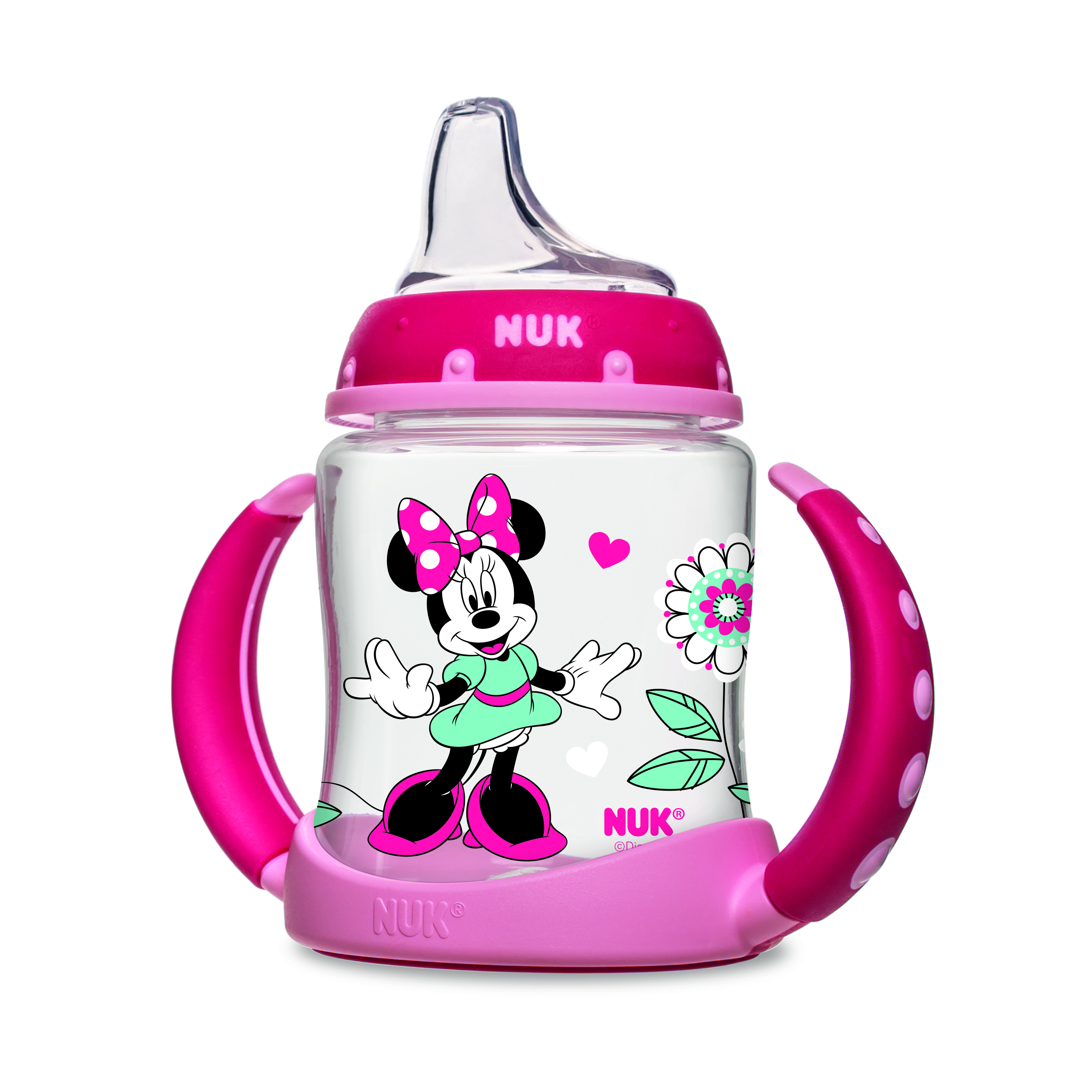 Nuk Disney Minnie Mouse Learner Cup 6+m, 1.0 CT by Nuk