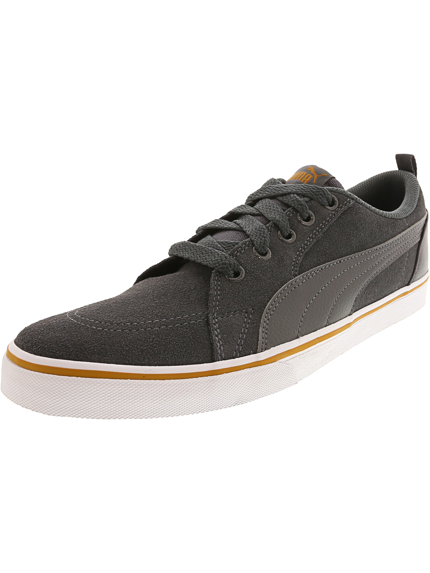 Puma Men's Bridger Sd Iron Gate / Ankle-High Suede Fashion Sneaker - 9M