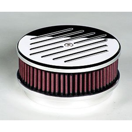 Billet Specialties 15120 Round Billet Aluminum Air Cleaner