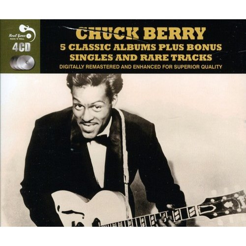 FIVE CLASSIC ALBUMS PLUS [CHUCK BERRY] [CD BOXSET] [4 DISCS]