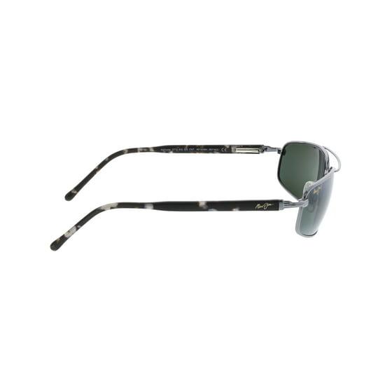 e79ebb2c0ae9 Maui Jim - Maui Jim Men's Kahuna 162-02 Silver Aviator Sunglasses ...