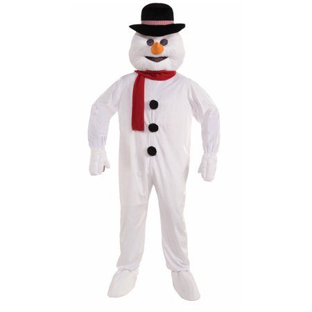 Men's Snowman Mascot Adult - Make Your Own Snowman Costume