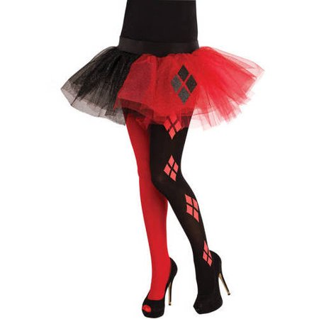 Harley Quinn Tutu Skirt Halloween Costume Accessory - Harley Quinn Tutu