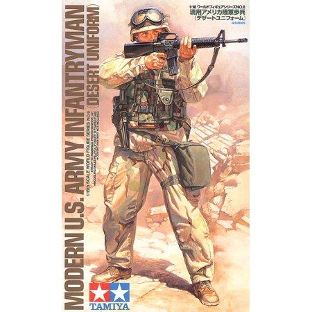 Tamiya 36308 Modern US Army Infantryman 1/16 Scale Plastic Model Figure