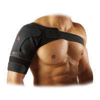 McDavid MD463 Shoulder Wrap, Adult L, BLACK