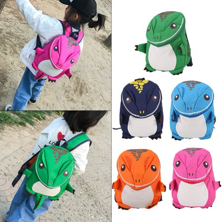 Knifun 3D Dinosaur Backpack For Boys Children backpacks kids kindergarten Small SchoolBag Girls Cute , Animal School Bag, Kids School - Animal Planet Kids Bag