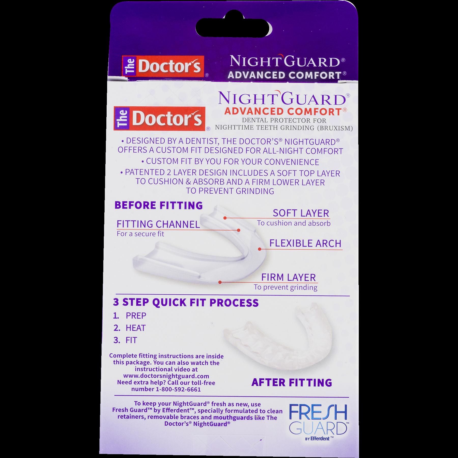 protector dental advanced the night comfort product walmart ct comforter reviews com guard doctor s