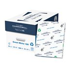 "Hammermill Great White Copy 8.5"" x 11"" Letter 100% Recycled (86790C) 20lb 92 Brigh 10 Reams-5000 Sheets Total. Made in USA"