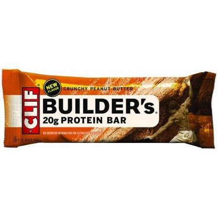 Clif Builder's ® Crunchy Peanut Butter Protein Bar 12-2.4 oz. Wrappers