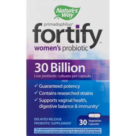 Nature S Way Women S Probiotic Fortify