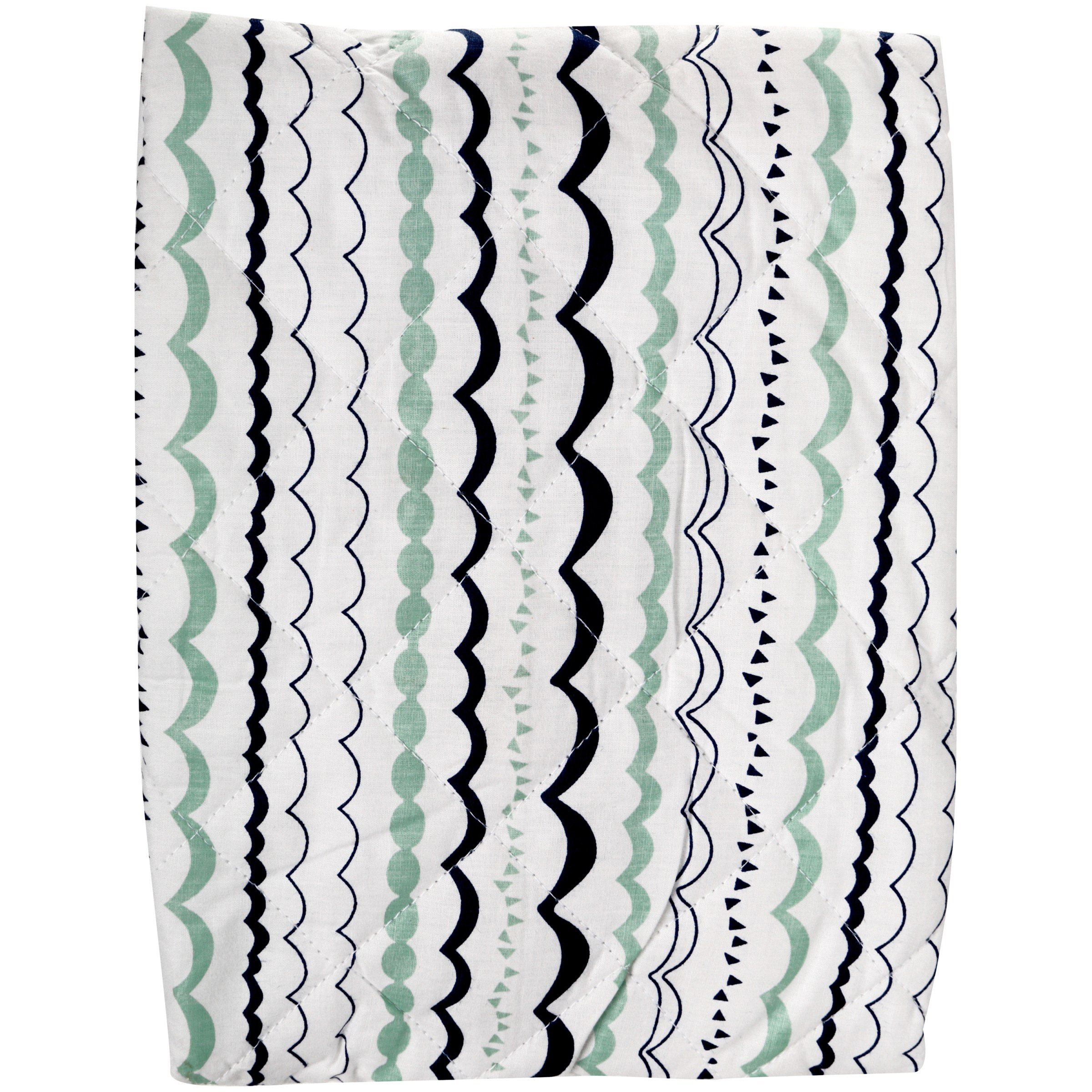 Bacati Noah Tribal Quilted Changing Pad Cover