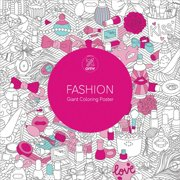 Lark Books-Fashion Giant Coloring Poster, Pk 1, Lark Books