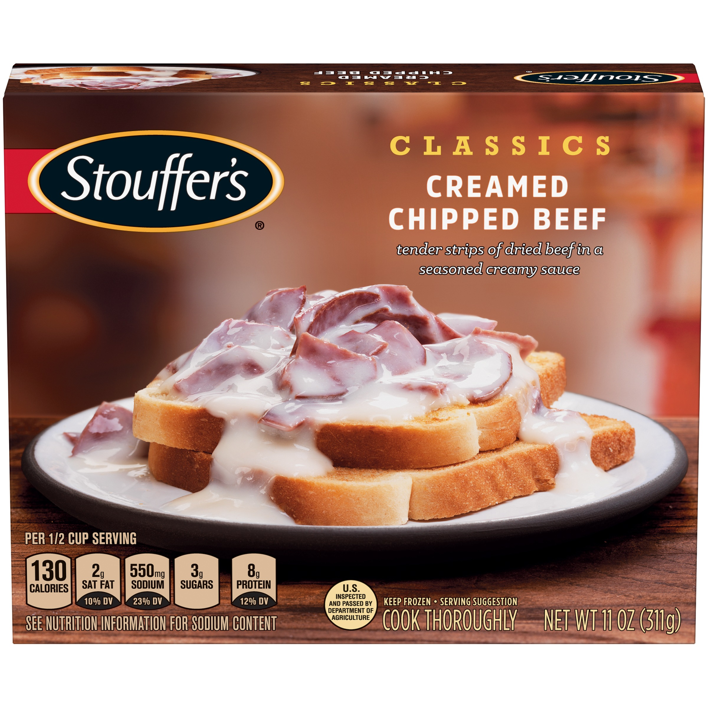 STOUFFER'S Classics Creamed Chipped Beef 11 oz Box
