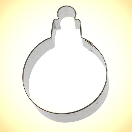 Ornament Round Cookie Cutter 3.75 in - Cookie Cutter Ornaments