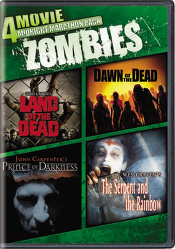 4-Movie Midnight Marathon Pack: Zombies (DVD) by Generic