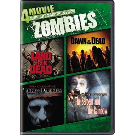 4-Movie Midnight Marathon Pack: Zombies (DVD) (Halloween Rob Zombie Movie Online)
