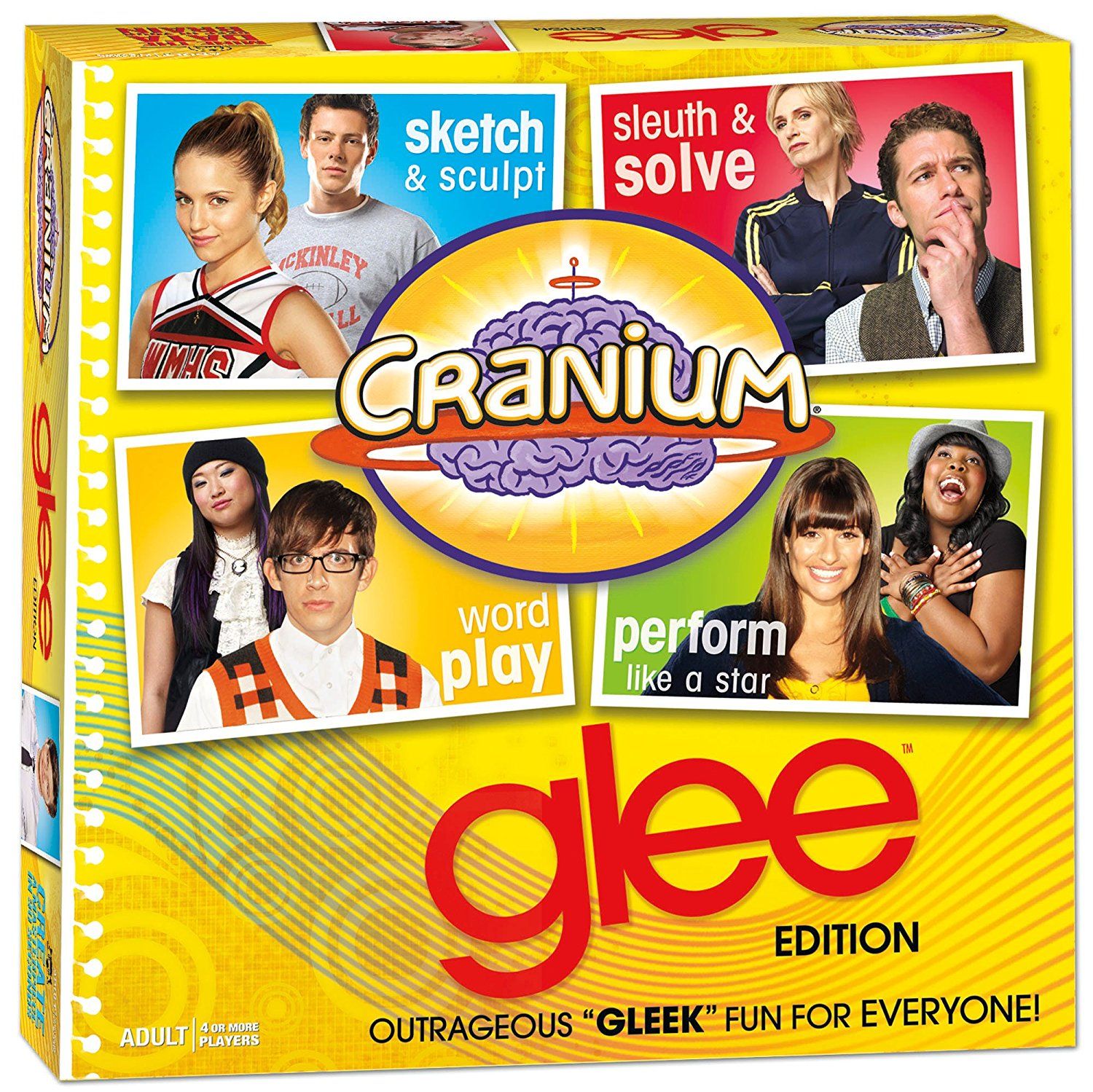 Glee , 600 glee questions and activities By Cranium by