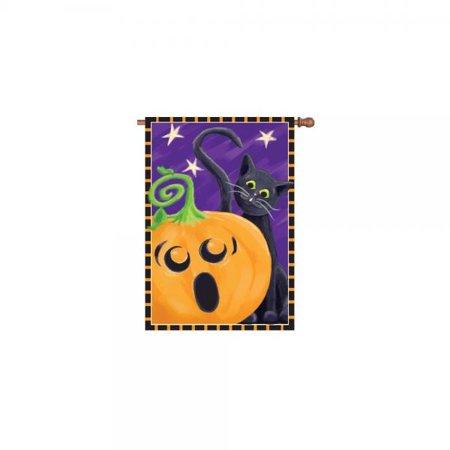 Halloween Surprise (Premier Kites 52722 House Brilliance Flag, Halloween Surprise, 28 by)